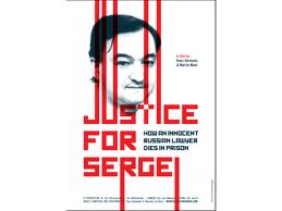 index Film: justice for Sergei MARDI 22/1