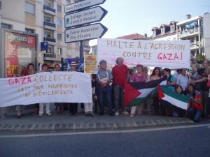 P1010038-300x225 Rassemblement de soutien à Gaza