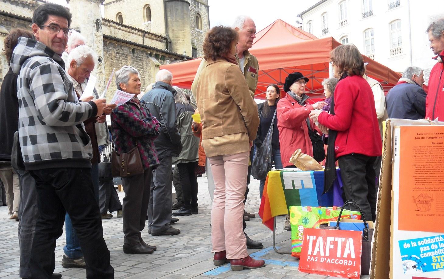 22 Journée mondiale de mobilisation contre TAFTA