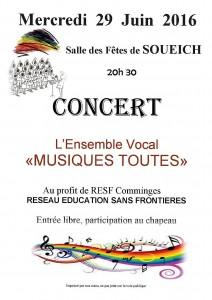 affiche concert Soueich